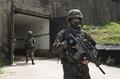 韩军公开非军事区训练现场