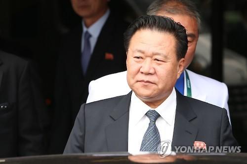 资料图片:崔龙海(韩联社)