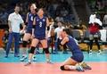 女排小组赛:韩国不敌俄罗斯