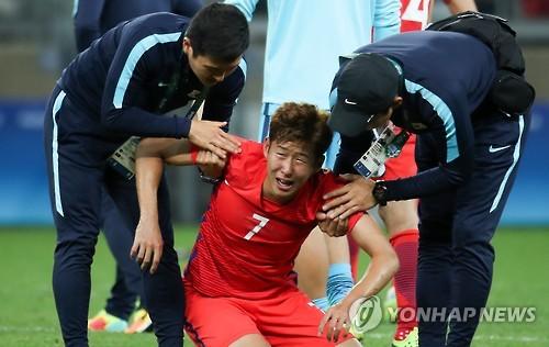 <올림픽> 참을 수 없는 눈물
