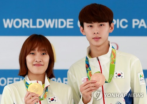 Medalists in taekwondo