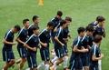 韩国男足训练