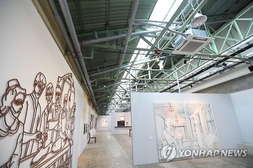 F1963에서 열린 부산비엔날레 [연합뉴스 자료사진]