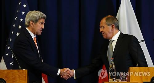 미·러, 시리아 내전 해결책 합의