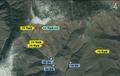 朝丰溪里核试验场卫星图