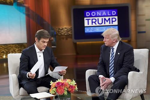 트럼프, TV서 건강검진 결과 공개