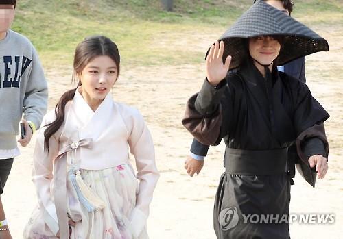 김유정-곽동연, '약속 지키러 왔어요'