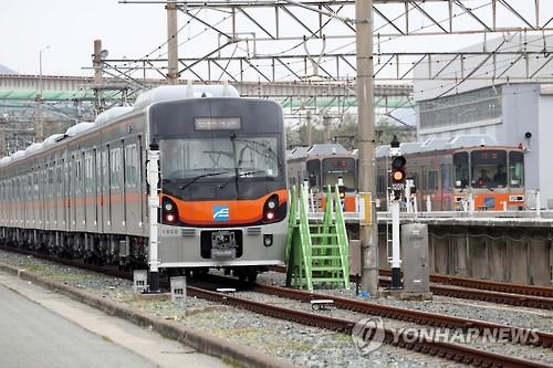 부산도시철도 [연합뉴스 자료사진]