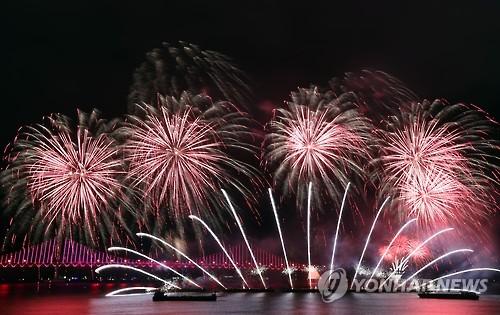 부산불꽃축제 [연합뉴스 자료사진]