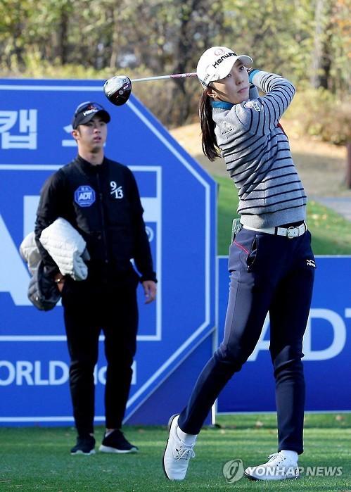 일본에서 제2의 골프 인생을 열게 된 윤채영.