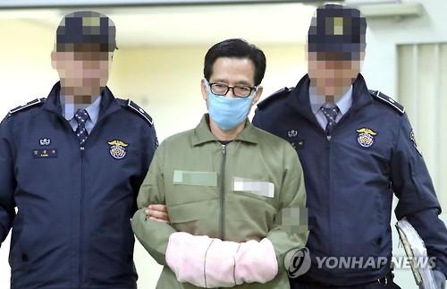 전방위 로비 의혹 엘시티 이영복 구속 [연합뉴스 자료 사진]