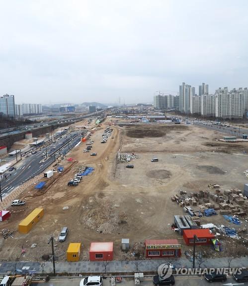 개발 한창인 SRT 동탄역 주변