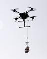 无人机采集海水样本