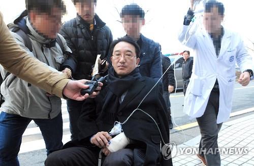 구속된 현기환 전 수석 [연합뉴스 자료 사진]