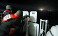 韩海警使用机枪示警