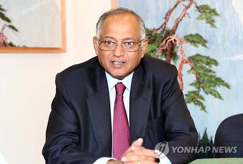 인도 TVS모터 스리니바산 회장