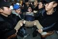 日驻韩使馆庆祝天皇生日遭抗议