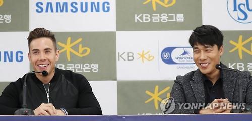 """김동성: 김동성·오노 """"한국 남자대표팀 기량 안 떨어졌다"""""""
