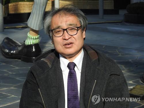 '위안부 증언 첫 보도' 우에무라 다카시 교수