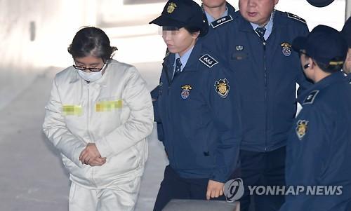 특검, 조사거부 최순실 체포영장…딸 비리로 이대 업무방해