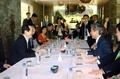 Parliamentary leader meets Japan's delegation