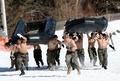 韩美海军陆战队冬季联合训练