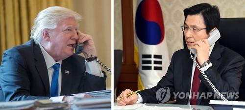 黃-트럼프 통화, 탄핵국면에도 최고위급 소통채널 가동 확인