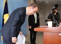 潘基文宣布不参选总统