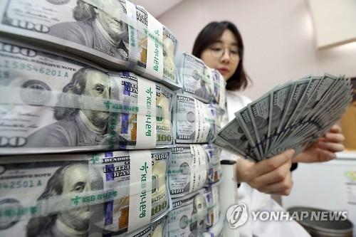 '힘 빠진 달러'[연합뉴스 자료사진]