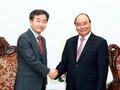 韩联社社长拜会越南总理