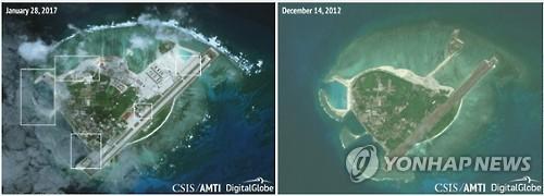 """중국, 남중국해 인공섬에 미사일 재배치…베트남 """"철수하라"""""""