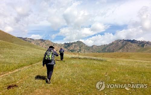 개장 앞둔 몽골올레의 풍광