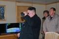 金正恩指导导弹试射