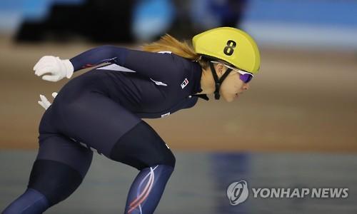 '장거리 여왕' 김보름, 대표 선발전 3,000m 1위…대회 신기록