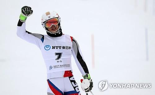 한국 스키 자존심 정동현, 올림픽 톱10에 도전장