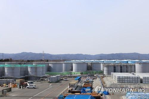 福島第1原発の汚染水を貯蔵したタンク(資料写真)=(聯合ニュース)