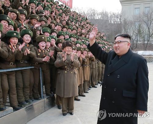北김정은, 평양방어 군부대 시찰