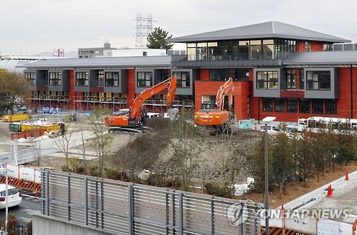 '헐값매각' 파문 확산 진원지인 日 오사카 초등학교