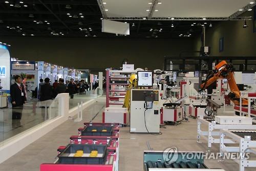국제 플라스틱·고무산업 전시회 [연합뉴스 자료사진]