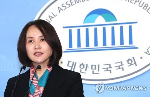 현안 브리핑하는 바른정당 조영희 대변인