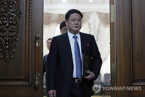 朝鲜驻华大使馆公使朴明浩 (韩联社)