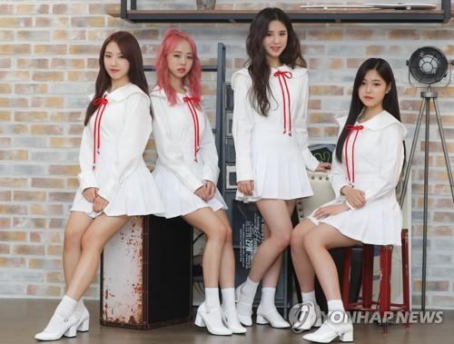 S. Korean girl group Loonatheworld