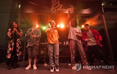 Drunken Tiger at K-pop Nightout in Austin