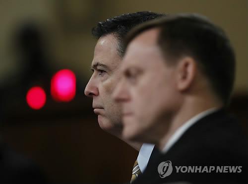美 청문회장의 FBI 국장과 NSA 국장