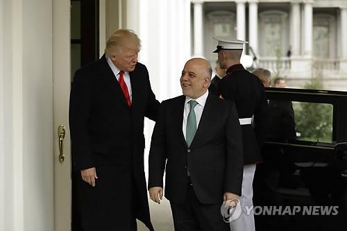 이라크 총리, 백악관 방문