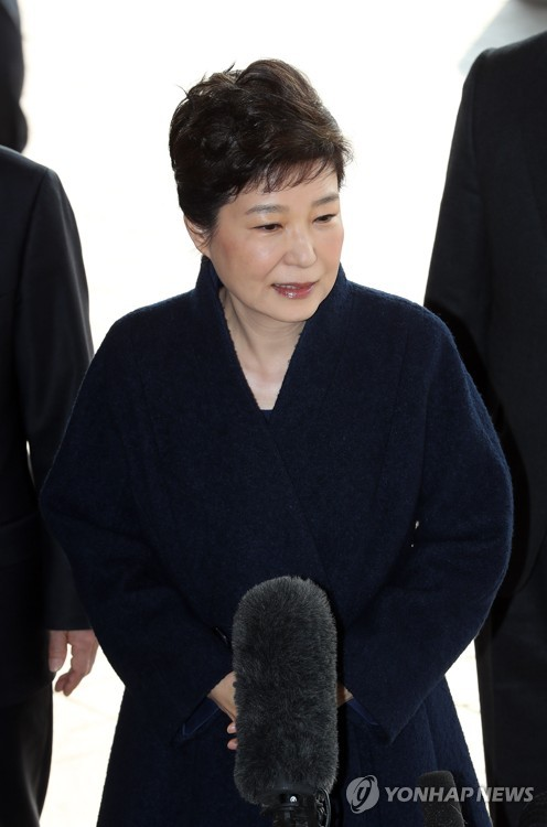 Park questioned by prosecution
