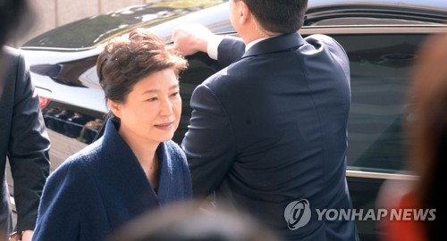 [박근혜 소환] 검찰 향하는 박근혜 전 대통령