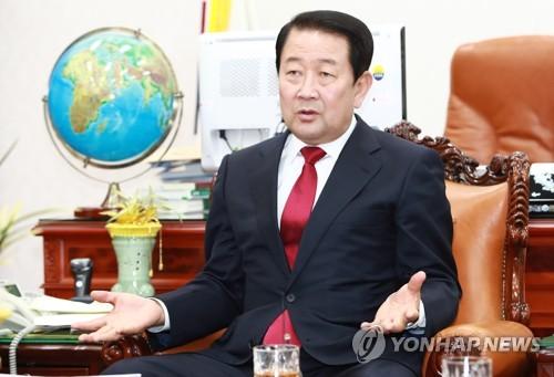 박주선 부의장, 지역언론 합동 인터뷰