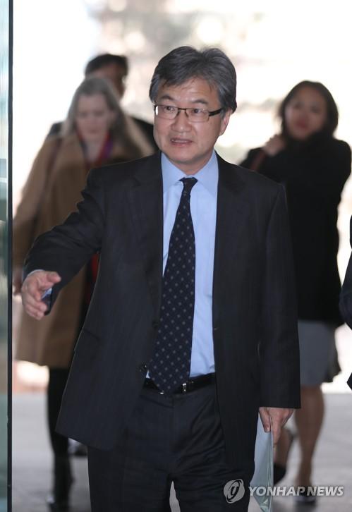 조셉 윤 美6자수석 외교부 방문