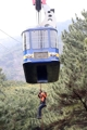 Rescue workers conduct cable car accident drill